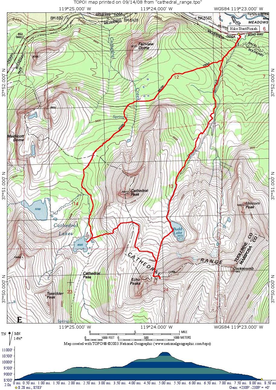 cathedral range state park pdf map