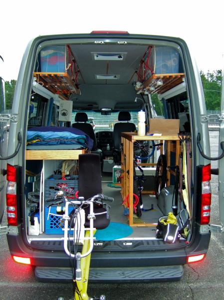 Dodge Work Van >> Sprinter van conversion.