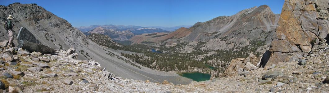 Barney Lake from Mammoth Crest - 9/2010