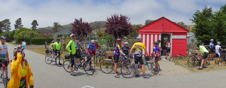 Bike Hut rest stop - 6/2014