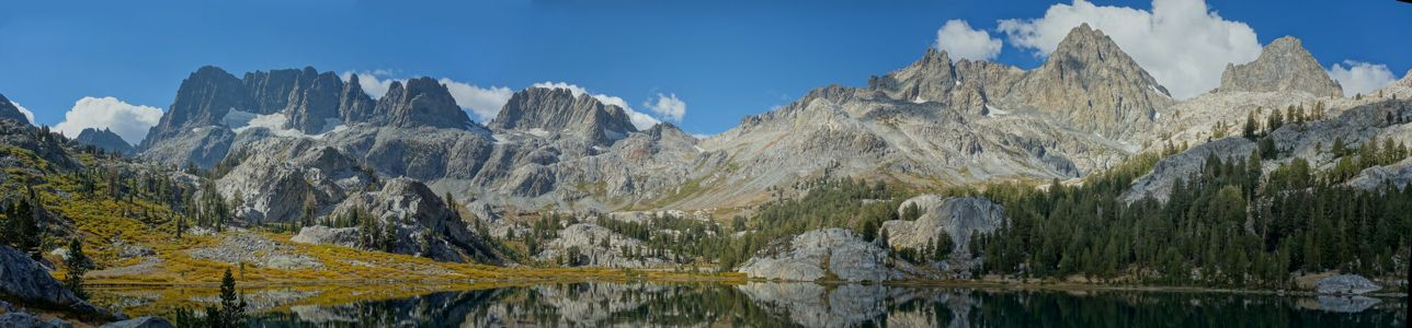 Ediza Lake Panorama 2 - 9/2013