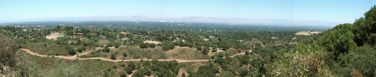 Los Altos Hills from Rancho San Antonio - 6/2012