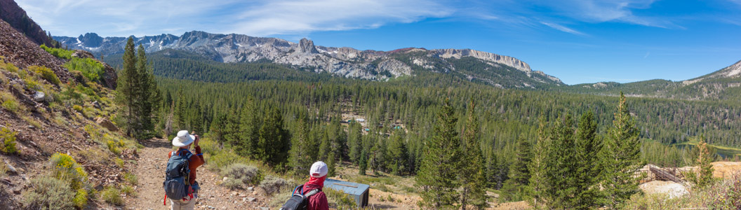 Mammoth Crest from Sherwin Crest - 9/2019