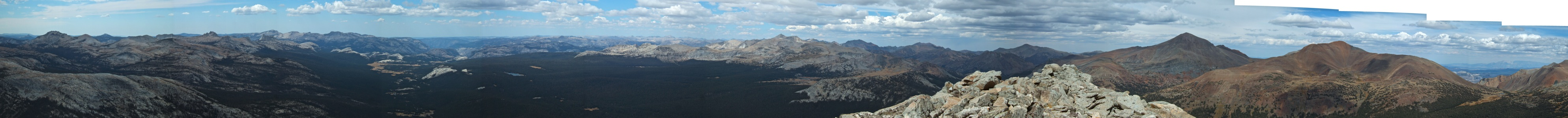 Mammoth Peak North Panorama - 9/2012