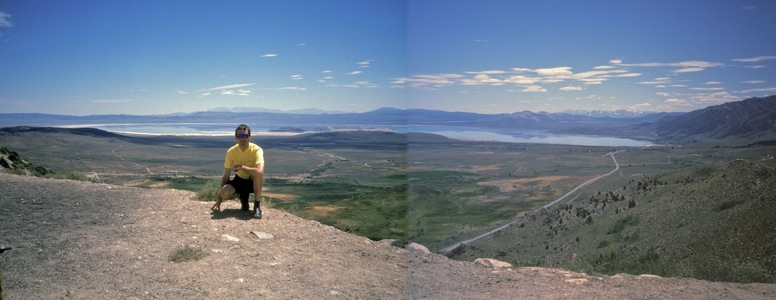 Mono Lake from Conway Summit - 8/1993
