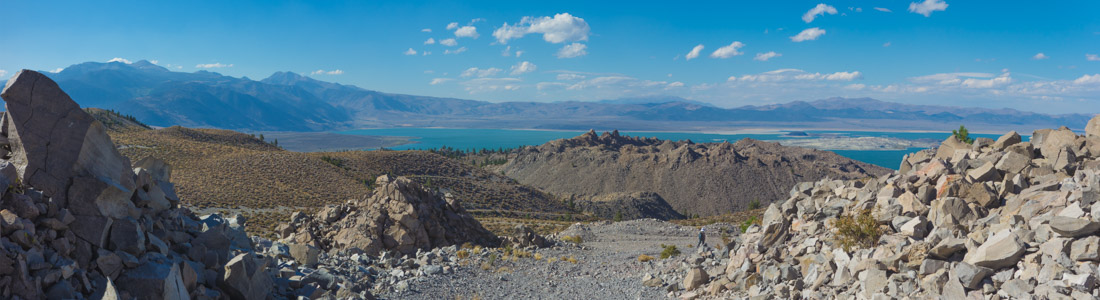 Mono Lake from Mono Craters 1 - 9/2016