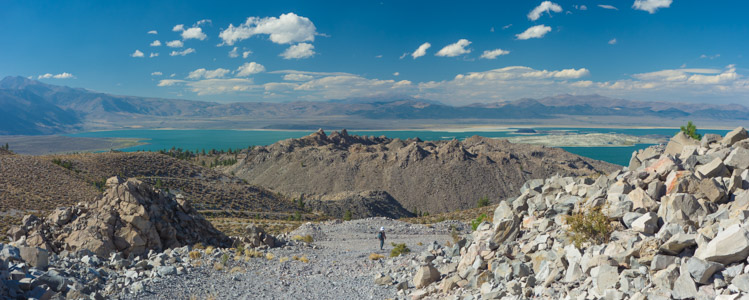 Mono Lake from Mono Craters 3 - 9/2016