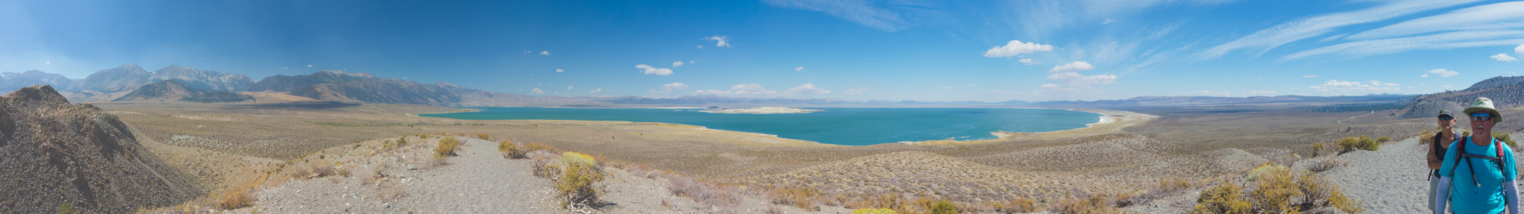 Mono Lake from Panum Crater 1 - 9/2016