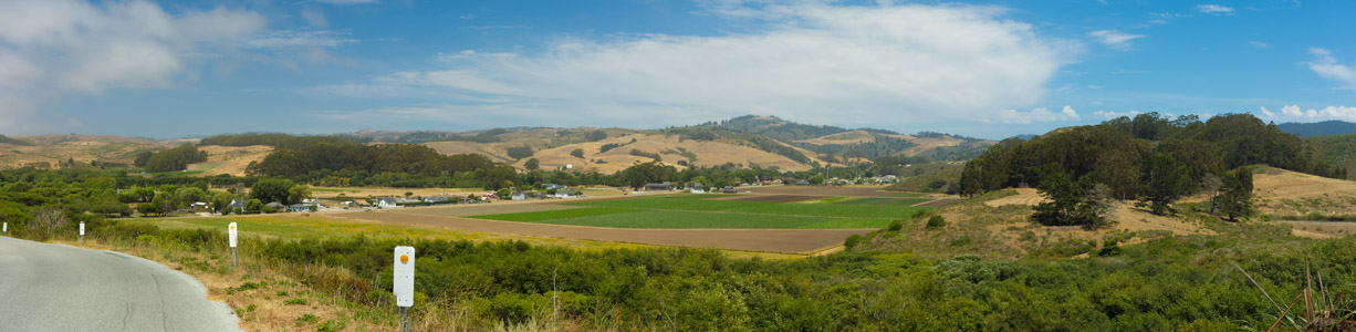 Pescadero from Bean Hollow Road - 7/2014