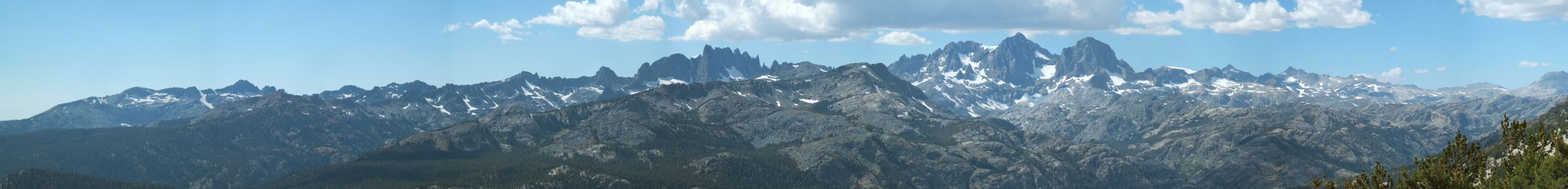 Ritter Range from San Joaquin Ridge - 9/2011