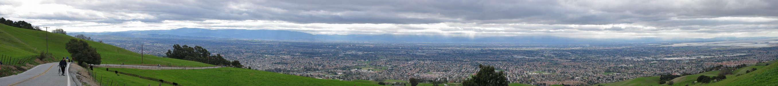 San Jose from Sierra Road - 10/2006