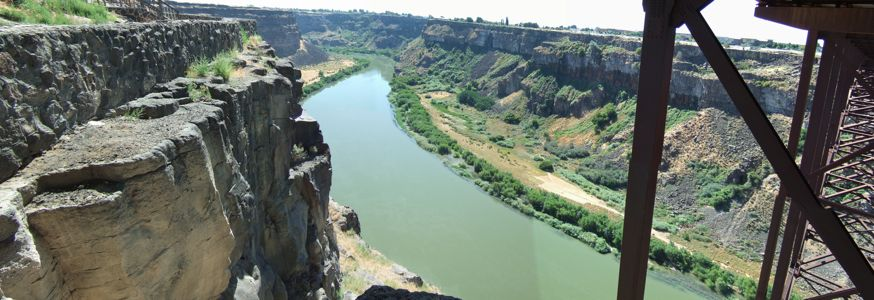 Snake River Canyon east - 8/2011