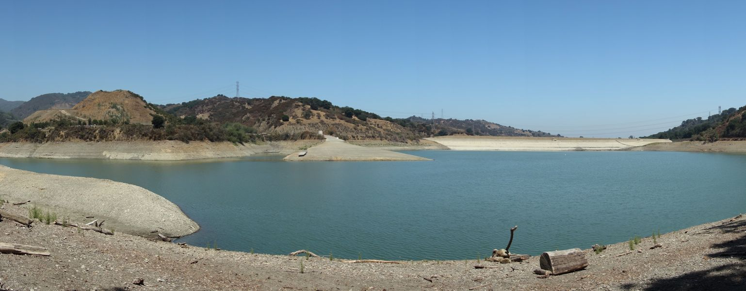 Stevens Creek Reservoir 1 - 7/2013