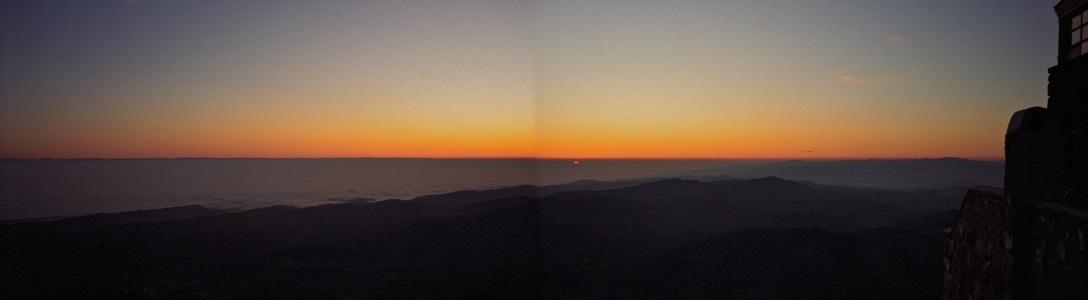 Sunrise on Mt Diablo - 1/1994
