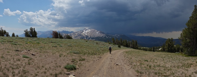 Thunderstorm over Mammoth Mountain - 7/2013