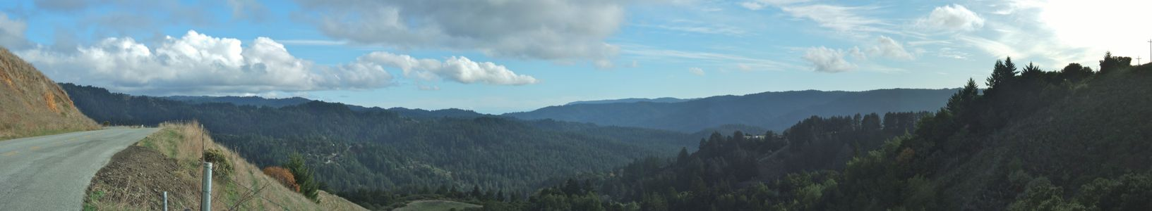 View from Alpine Road - 11/2011