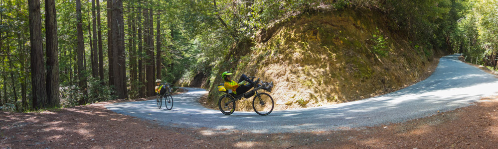 Zachs climb Tunitas Creek Road - 6/2015